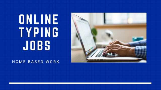 Online Jobs Typing