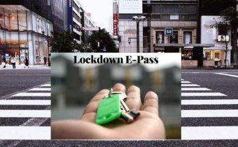 lockdown e pass