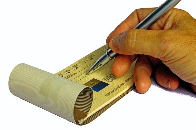 Cheque Book Issue Application in Hindi